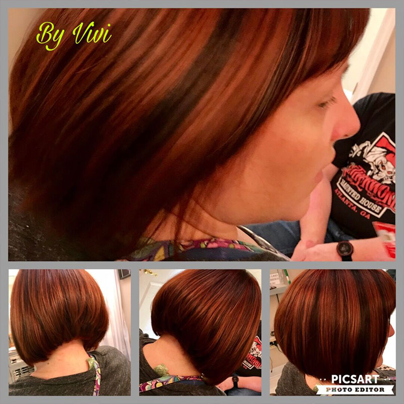 Vivi Salon & Spa LLC Hair Coloring Service